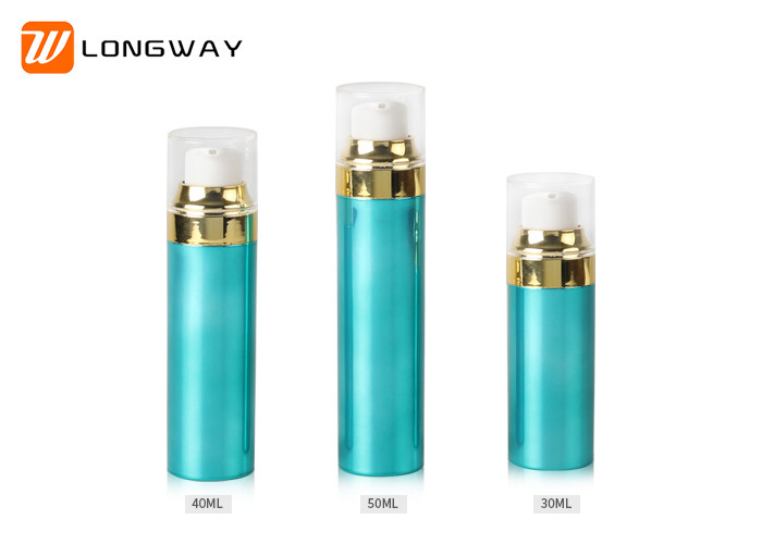 Luxury Empty Airless Pump Bottle Snap on Finish 30ml 40ml 50ml capacity